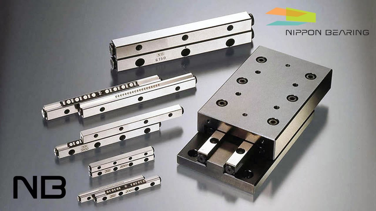 Nb Anti Cage Creep Cross Roller Slide Guides And Tables