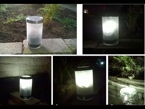Endless Solar Light for $10 (DIY)