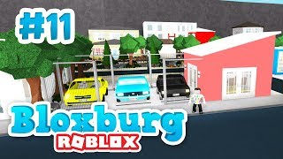 BUILDING A CAR DEALERSHIP - Roblox Welcome to Bloxburg #11