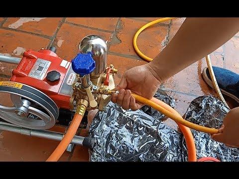 Máy rửa xe dây đai Đài Loan LS22