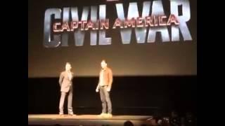 《美國隊長3:內戰》(Captain America 3:Civil War)鋼鐵人Iron Man(小勞勃道尼Robert Downey Jr.) V.S. 美國隊長Captain America Thumbnail