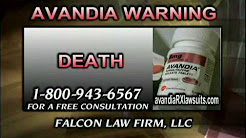 Avandia Danger From Falcon Law Firm, LLC