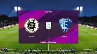 PES 2020   Spezia vs Empoli - Serie B   19/06/2020   1080p 60FPS