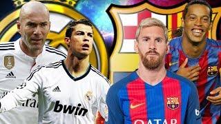 LE 11 DE LEGENDE DU BARCA VS LE 11 DE LEGENDE DU REAL MADRID : QUI GAGNE ?