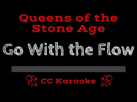 Queens Of The Stone Age • Go With The Flow (CC) [Karaoke Instrumental Lyrics]