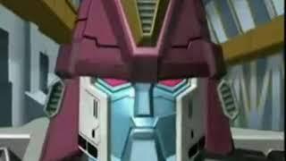 Transformers Cybertron - Cartoon-Anzeige für Cartoon Network (schwedischen) Handels -