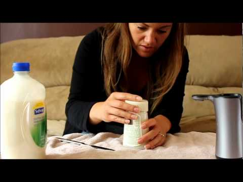 Refill Lysol No Touch Hand Soap System Youtube