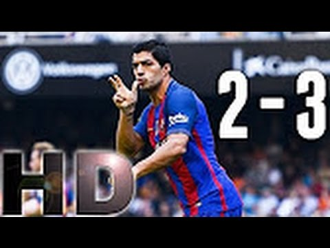 Download Barcelona vs Valencia 3-2 All Goals and highlights ~ 22-10-2016