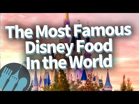 The Most Famous Disney Food In The World!