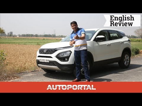 Tata Harrier Test Drive Review - Autoportal