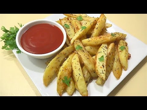 Baked Potato Recipe | Delicious Baked Potato طرز تهیه چپس داشی خوشمزه