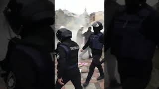 Киев | Псы авакова разгоняют митинг под гимн Украины | 07 09 2017