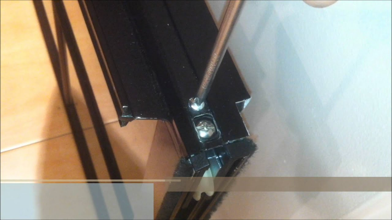 How To Replace Sliding Door Roller Youtube