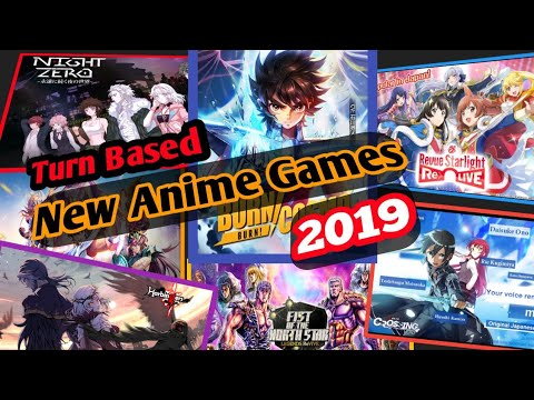 Top 6 New Turn Based Anime Mobile Games 2019 - RPG - Android/iOS - SEA - EN