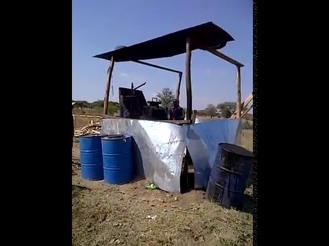 Waste To Energy Plant, waste plastic to diesel in rural South Africa. By Recor