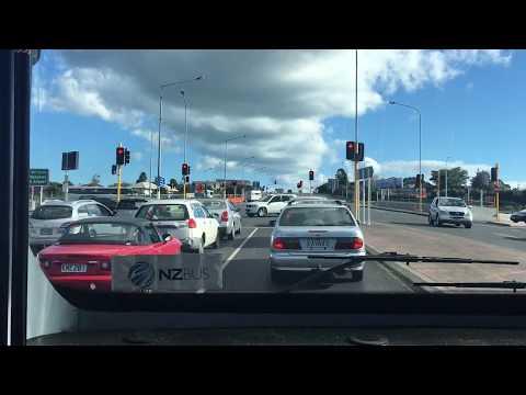 MAN 17.223 #1477 | Depot via Motorway & Grey Lynn to City | LHS windscreen view