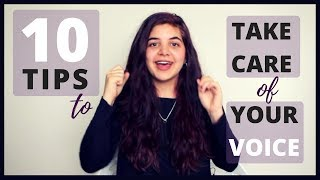 10 Vocal Health Tips - How to Take Care of Your Singing Voice