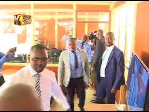 MPs Babu Owino and Jaguar trade blows at parliament buildings