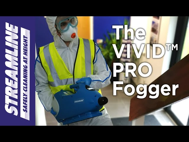 VIVID™ Pro Fogging Machine in action