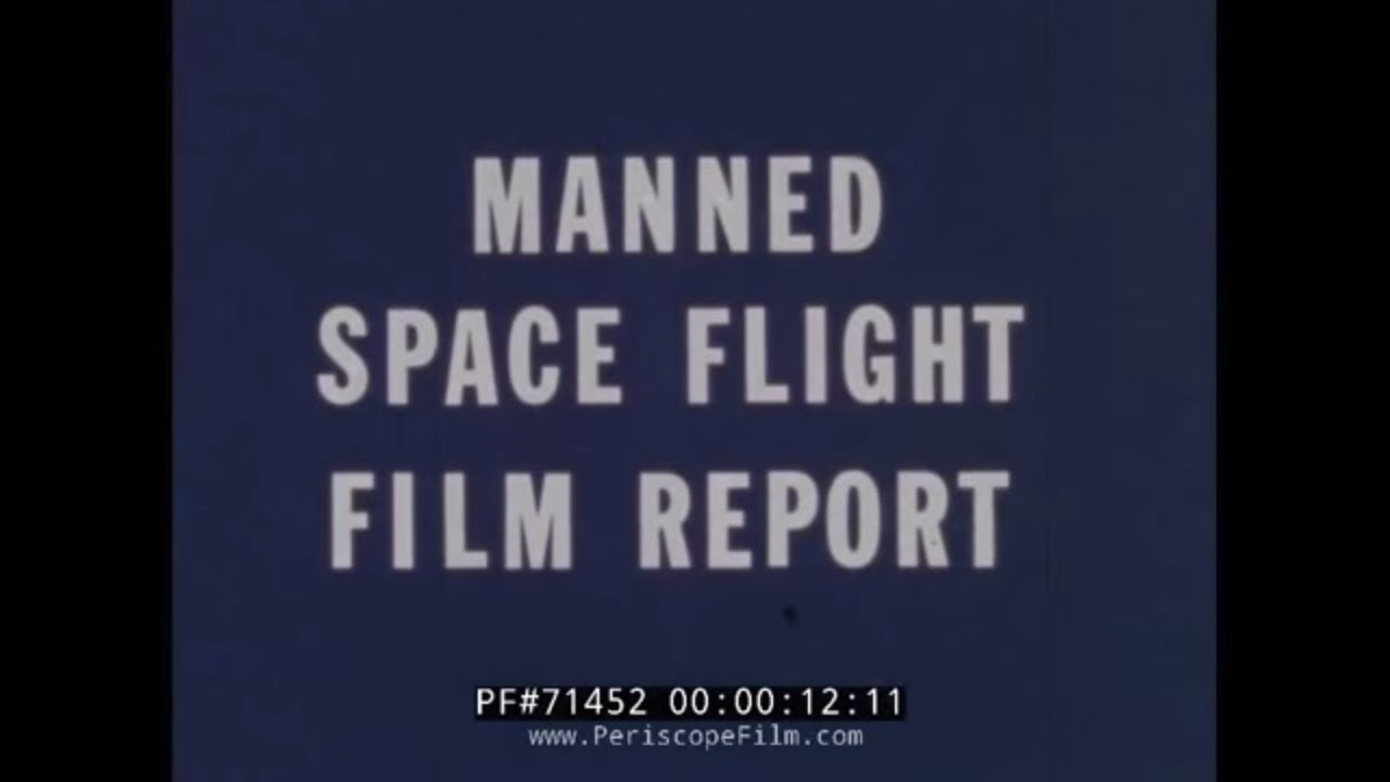 NASA APOLLO 7 MANNED SPACE FLIGHT FILM REPORT 71452 - YouTube