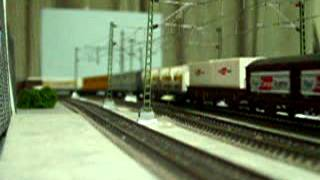 Europe Rail  Modelleisenbahn HO BLS- Cargo Re485 ②