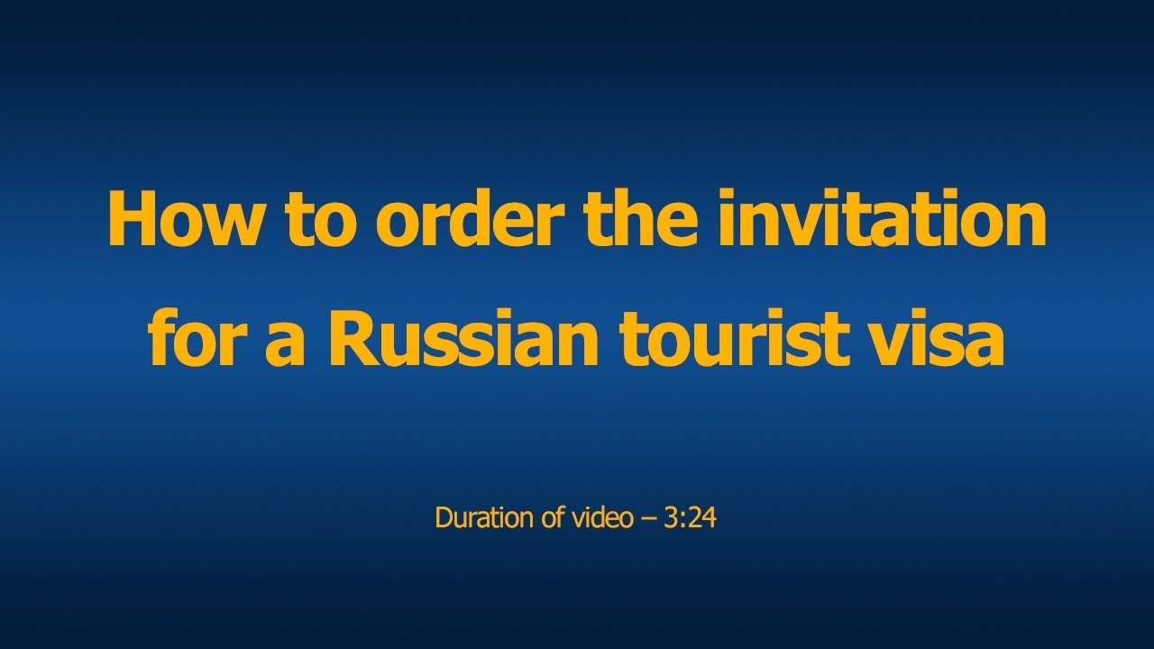Russian tourist visa definition and advantages