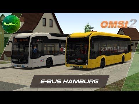 [OMSI 2] ОБЗОР E-BUS HAMBURG |