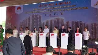 Golden City[ Nghi thức mở bán nhà ở xã hội với giá ưu đãi tại giữa lòng Thành phố Tây Ninh]