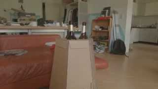 Cardboard Diy Beer Table - The Beer Butler
