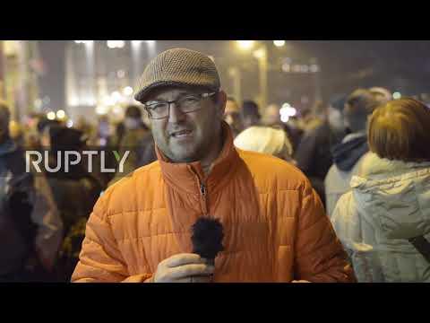 Serbia: Tens of thousands flood Belgrade protesting political violence