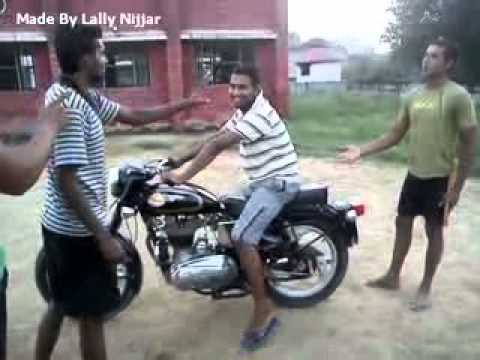 Boy Stop Bullet Bike