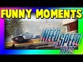 Need for Speed Rivals - Funny Moments (Boss Repairing, Close Bust, Flying cars & Sillyness)
