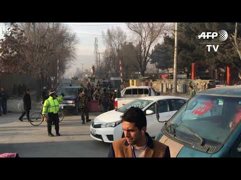 Six killed in suicide attack near Afghan spy agency