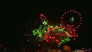 Новогодний салют 2020 года в Кингисеппе