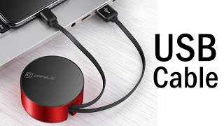 6 Best Retractable USB Cable Under $10 | Fast Charging USB Cable