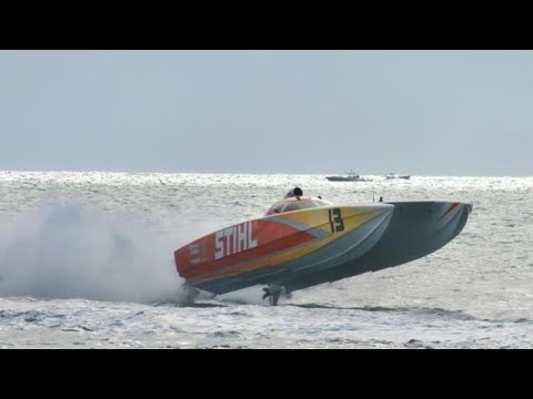 Nothing good on TV? We have 130 MPH superboats for you.  201