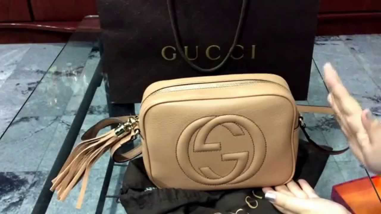 c0f0937f6e2c Unboxing  Gucci Soho Disco Bag and Tory Burch Ballerina shoes - YouTube