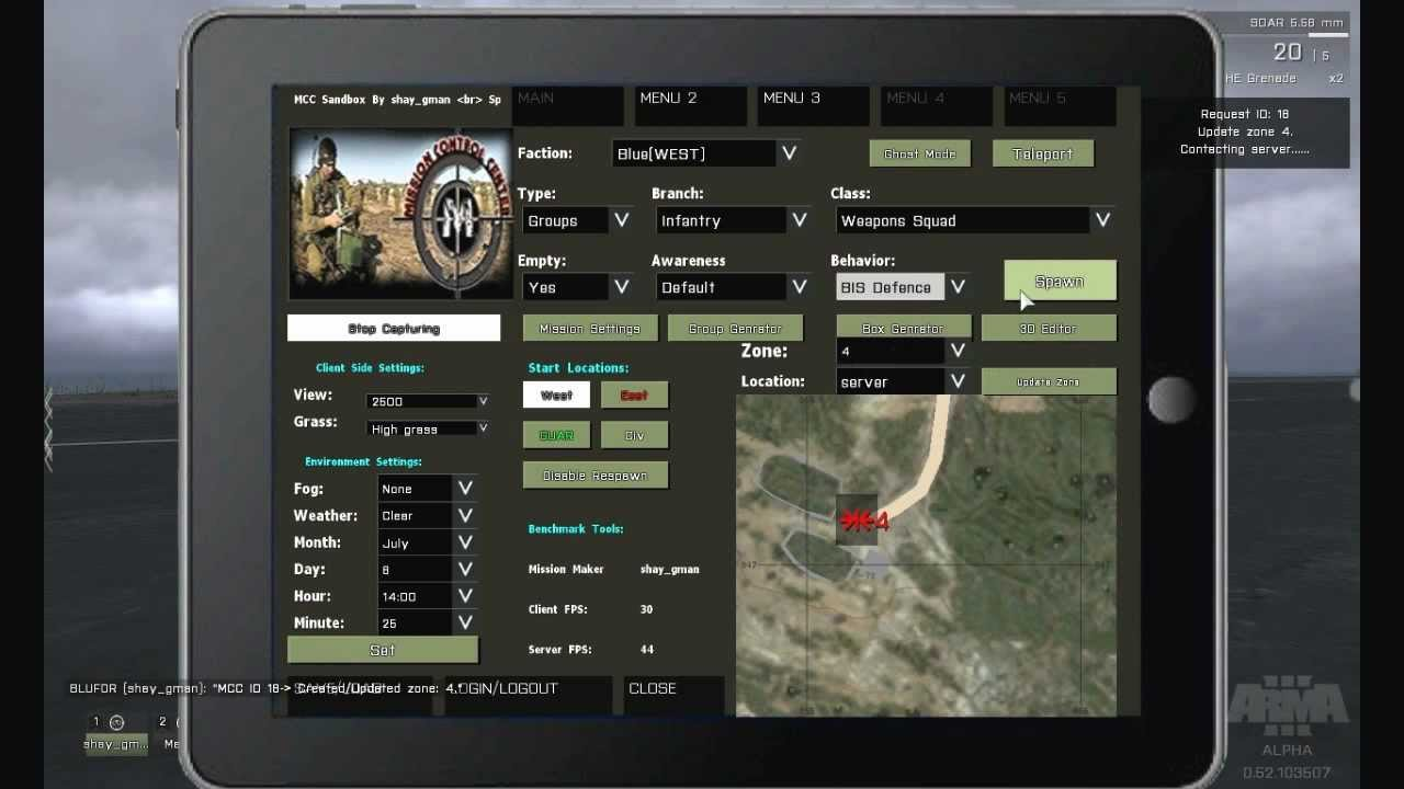 ArmA 3 - MCC Sandbox 3 - Dynamic Mission Editor - Making an hostage rescue  mission