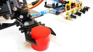 Make a Programmable Arduino Robot Arm | Mert Arduino