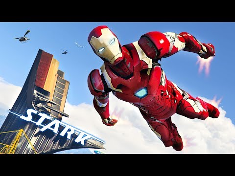 Gta  Iron Man Mod Gameplay Gta  Mods Gameplay