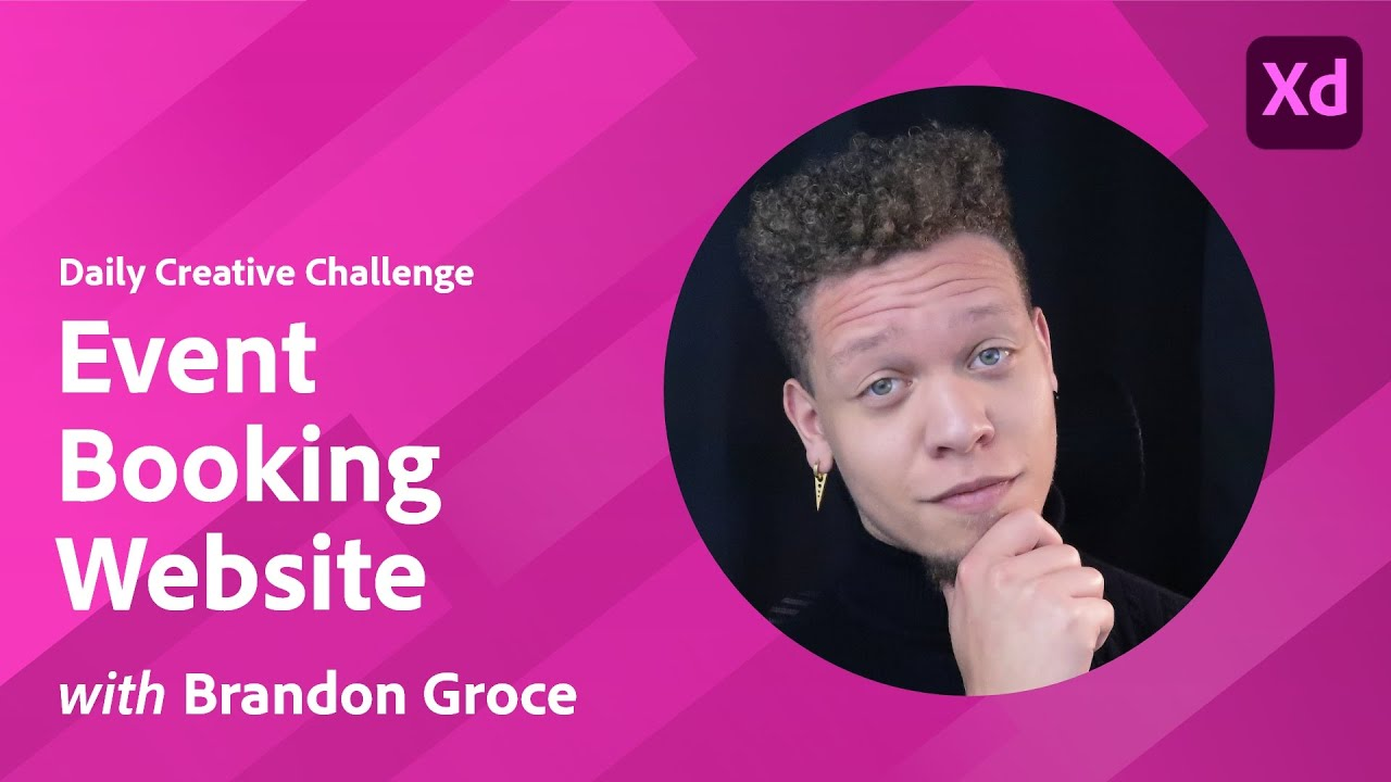 XD Daily Creative Challenge - Event Booking Website