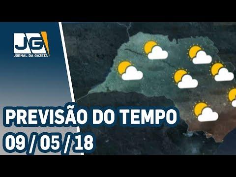 Previsão do Tempo - 09/05/2018