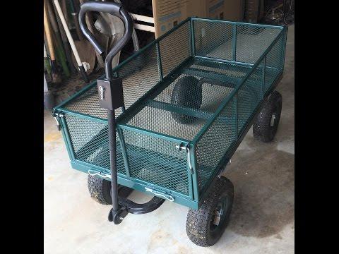 Sandusky Garden Utility Cart - PART 2