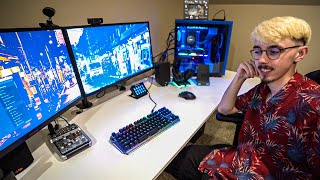 My Brother's New Gaming Setup Tour
