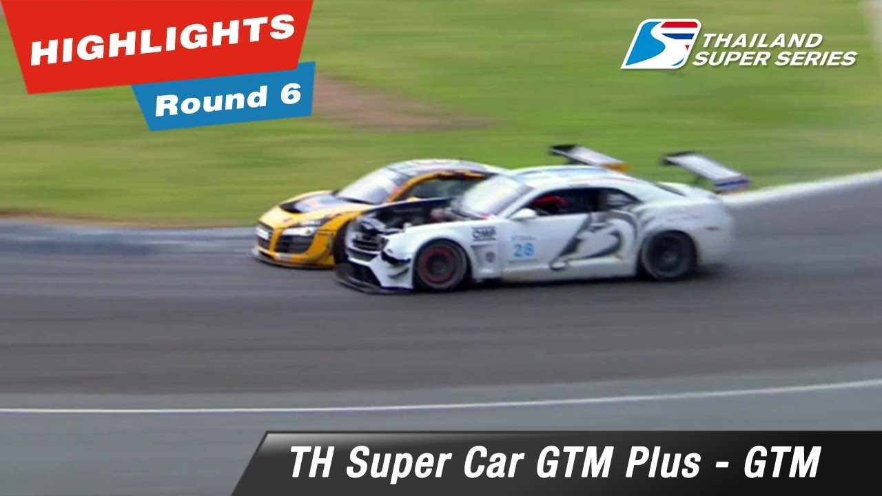 Highlights Thailand Super Car GTM Plus - GTM : Round 6 @Chang International Circuit