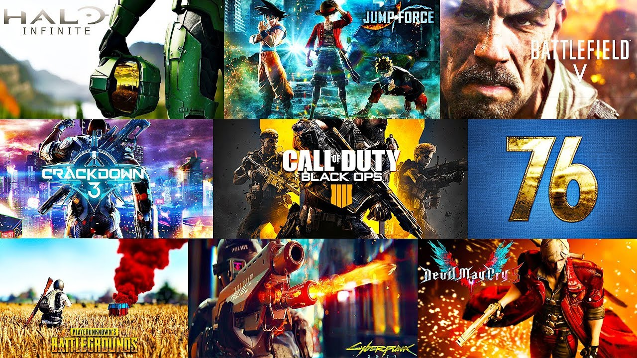 Best Upcoming Video Games In 2018 2019 Youtube