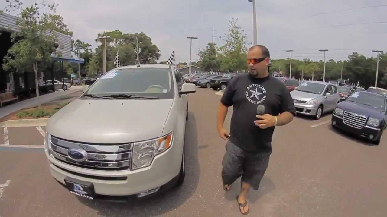 Autolines  Ford Edge Sel Walk Around Review Test Drive