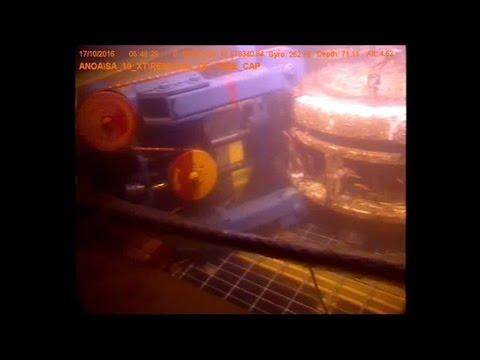Underwater Steel Cutting with Diamond Wire Saw