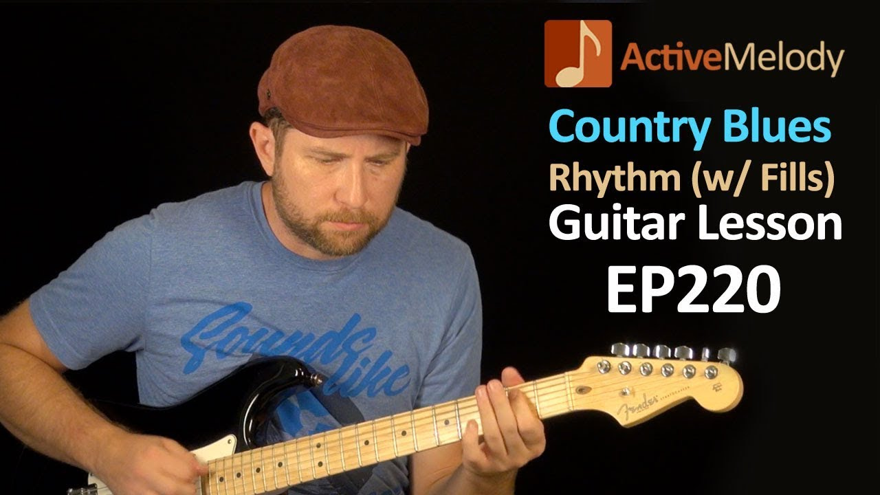 how to play blues rhythm guitar