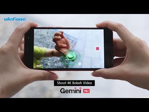 Ulefone Gemini Pro - The Only Phone To Take 4K Bokeh Videos